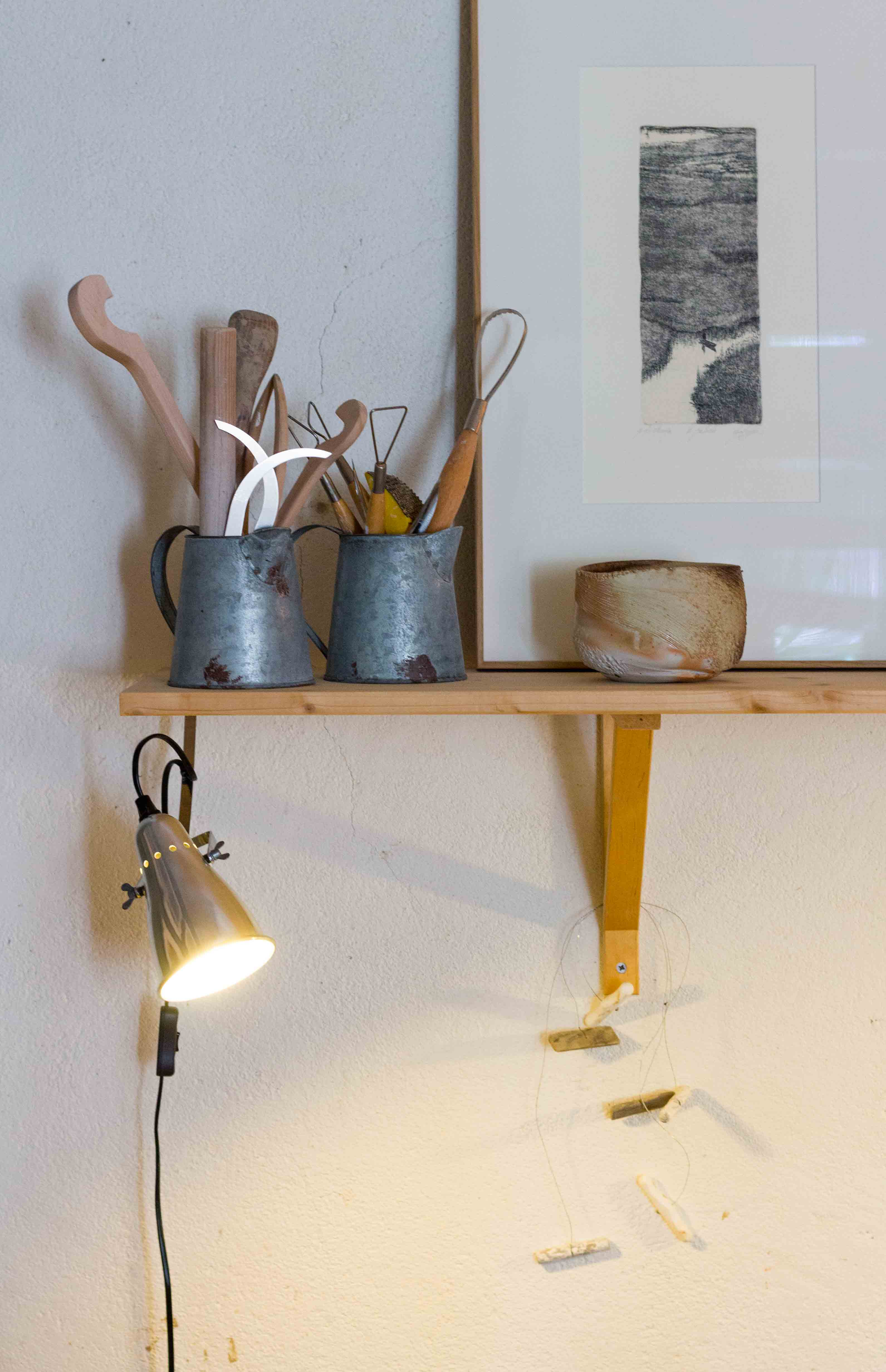 Tom Charbit Ceramics Online Shop - Studio