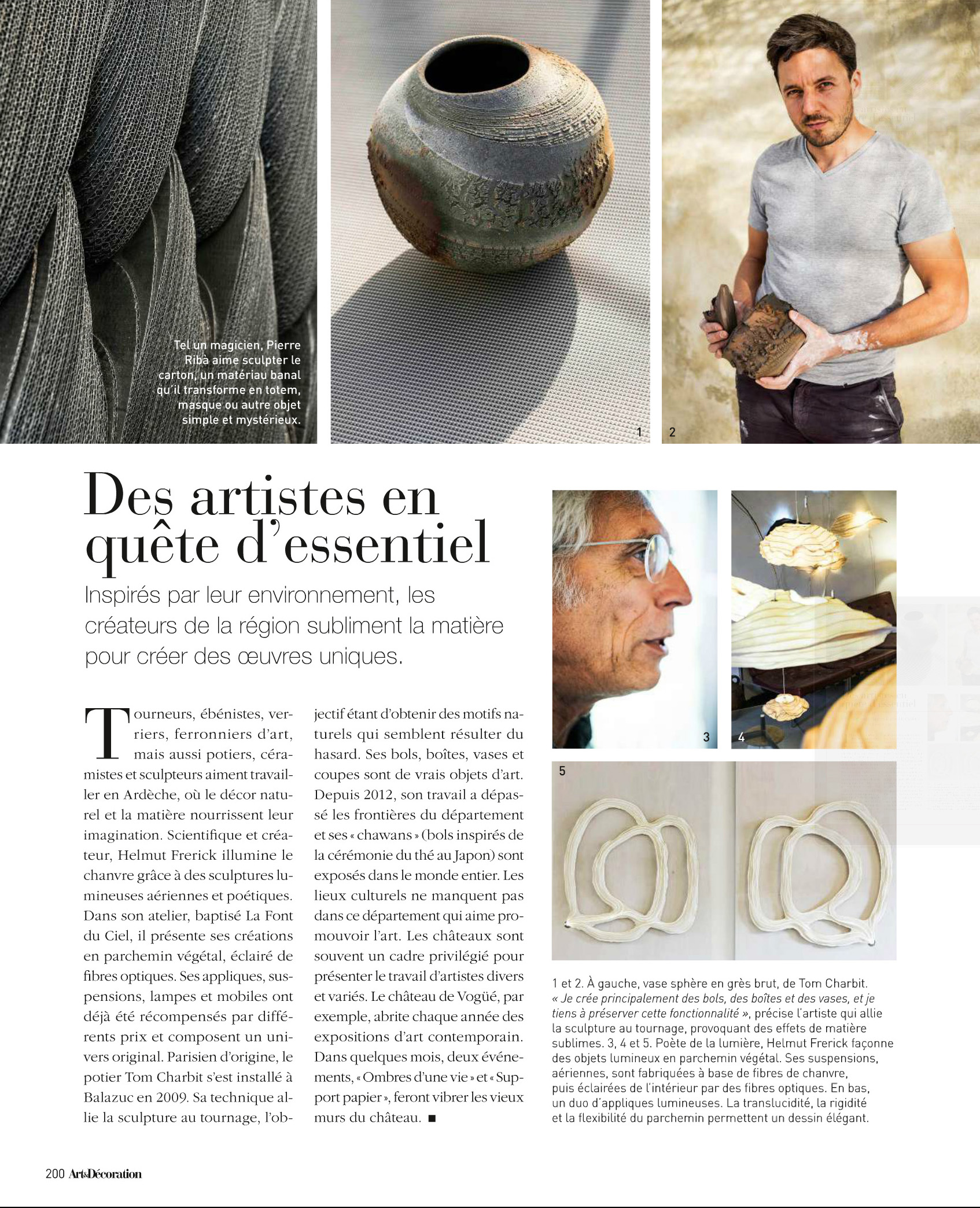 Tom Charbit Ceramics Online Shop - Article Art et Décoration